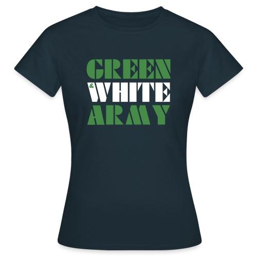 GREEN & WHITE ARMY - Women's T-Shirt
