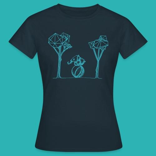 Rotolare_o_capitombolare_lightblu-png - Maglietta da donna