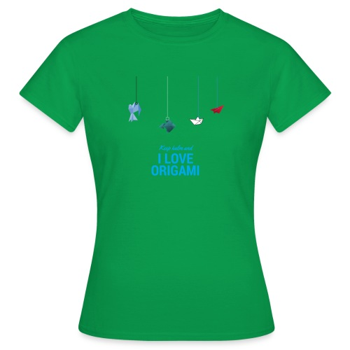 keep kalm and love origami versione estate - Maglietta da donna