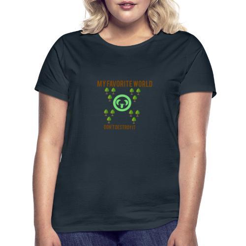 My world - Camiseta mujer