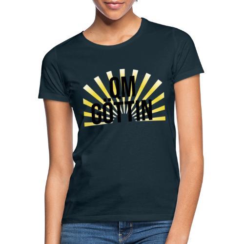 qm göttin black - Frauen T-Shirt
