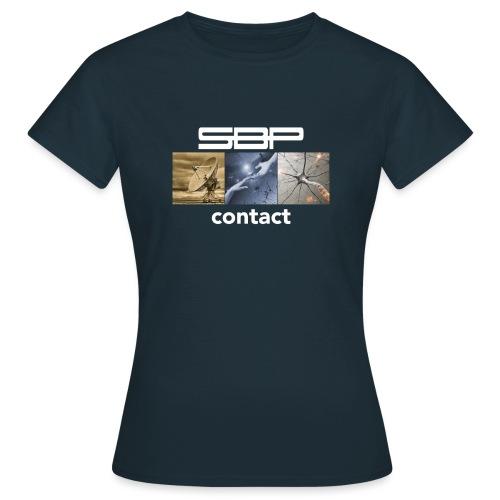 T-shirt Contact 123 black - Women's T-Shirt