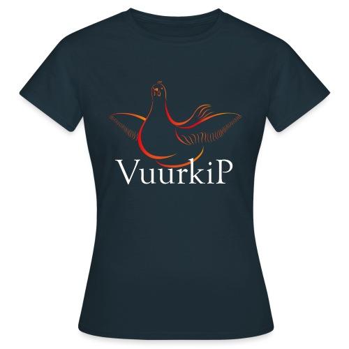 Vuurkip - Vrouwen T-shirt