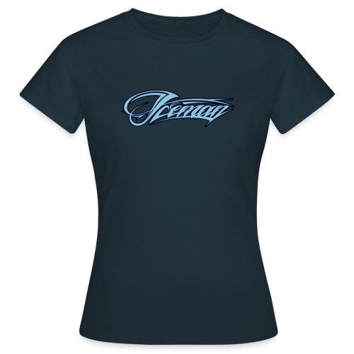 ICEMAN7 BLUE - T-shirt dam