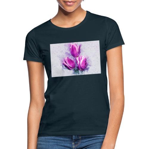 stevanka flowers tulpen - Frauen T-Shirt