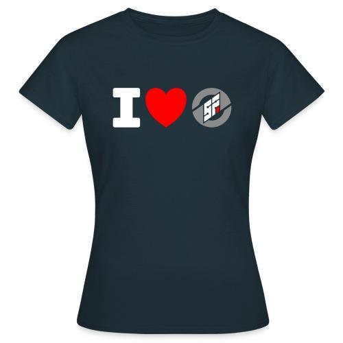 I <3 SF - Women's T-Shirt