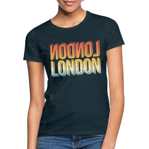 London Souvenir England Simple Name London - Frauen T-Shirt