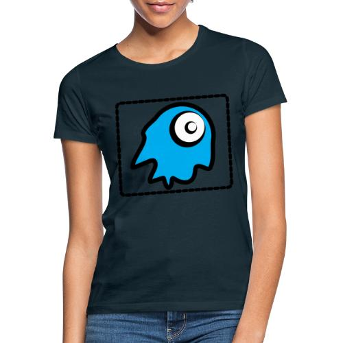 blue monsty - Camiseta mujer