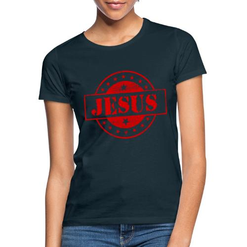 Stempel Jesus - Dame-T-shirt