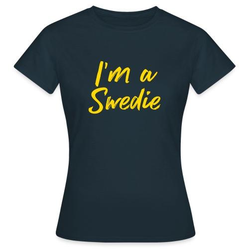 Ich bin ein Swedie - Frauen T-Shirt