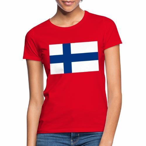 Suomenlippu - tuoteperhe - Naisten t-paita