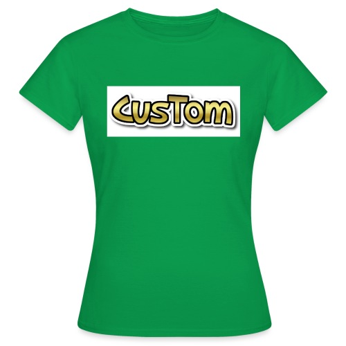 CusTom GOLD LIMETED EDITION - Vrouwen T-shirt