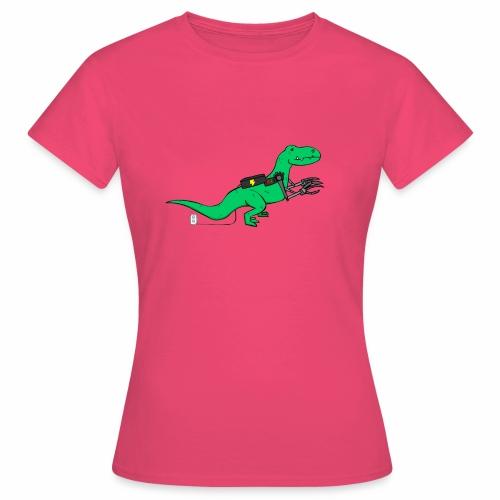 cyborgsaurusprint - Vrouwen T-shirt