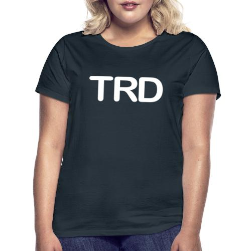 Tauchrevier Deutschland TRD Letter - Frauen T-Shirt
