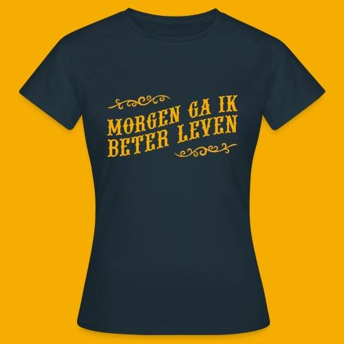 tshirt yllw 01 - Vrouwen T-shirt
