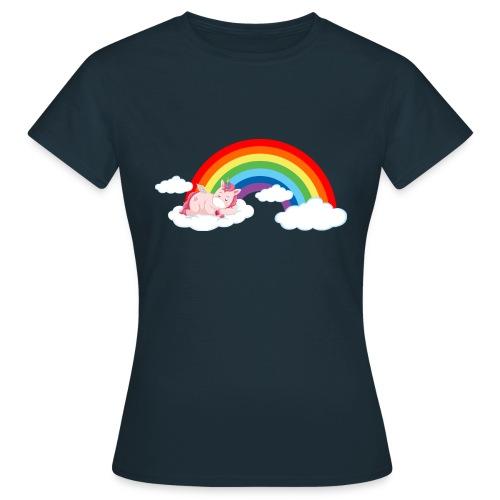 ARCOIRIS UNICORN - Camiseta mujer