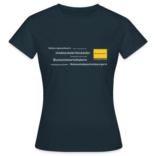 ML WIFO 20 0001 HASHTAG WORTSCHLANGE - Frauen T-Shirt