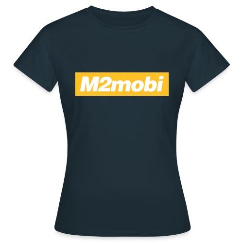 M2mobi oblique 02 - Vrouwen T-shirt