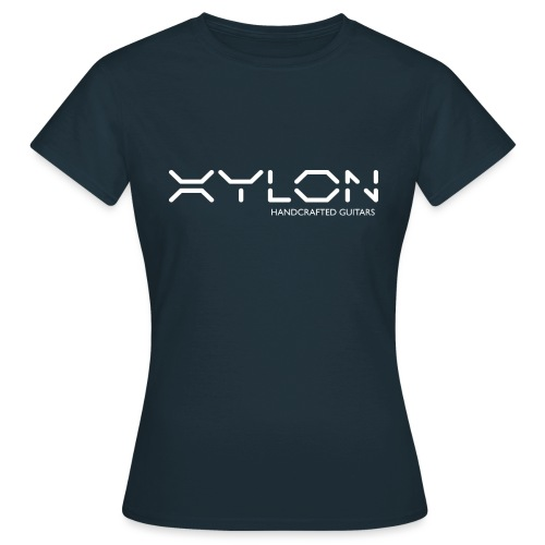 Xylon Handcrafted Guitars (name only logo white) - Women's T-Shirt