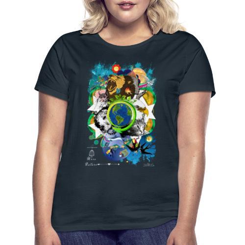 Terre Mère Nature -by- T-shirt chic et choc - T-shirt Femme