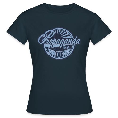 PROPAGANDA 01 BLUE - Women's T-Shirt