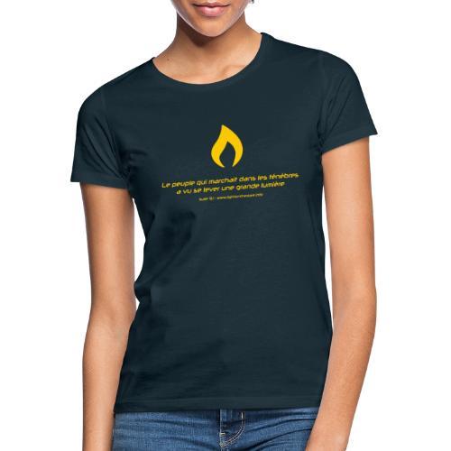 Flamme de Lights in the Dark - T-shirt Femme