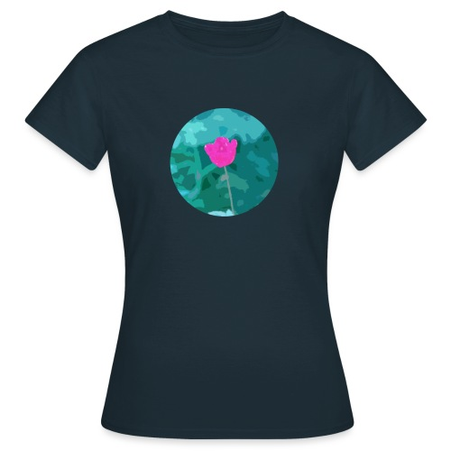 Flower power - Vrouwen T-shirt