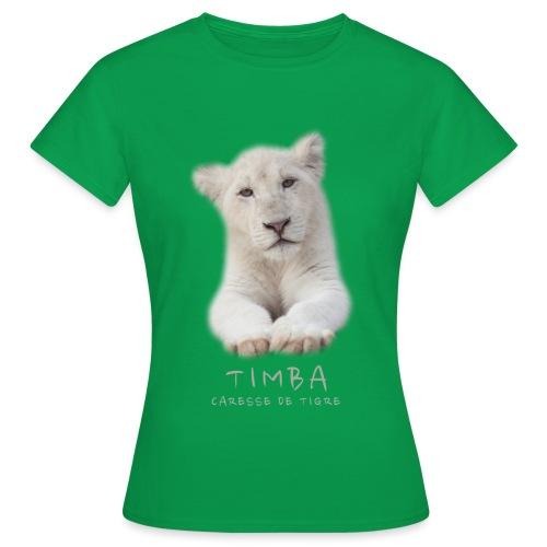 Timba bébé portrait - T-shirt Femme