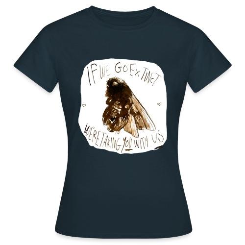 the bee - Women's T-Shirt