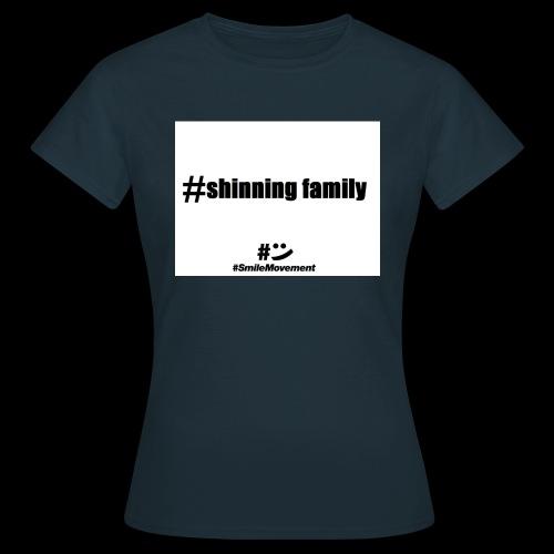 shinning family - T-shirt Femme