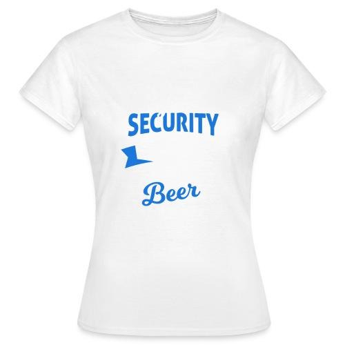 Cyber Security Expert will work for beer - Maglietta da donna