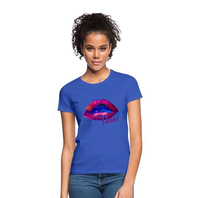 Lila Lippen sollst Du küssen!
