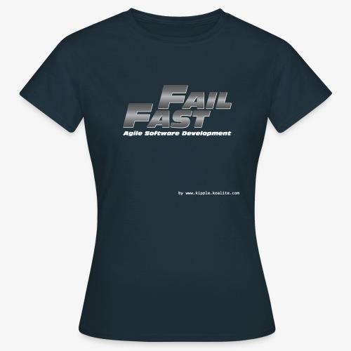 fail fast gif - Women's T-Shirt