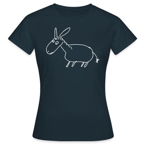 7000 ESEL S outline - Frauen T-Shirt