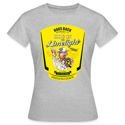 Hog_In_Limelight - Women's T-Shirt