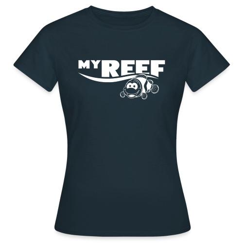 MyReef WhiteOnTransparent png - Vrouwen T-shirt