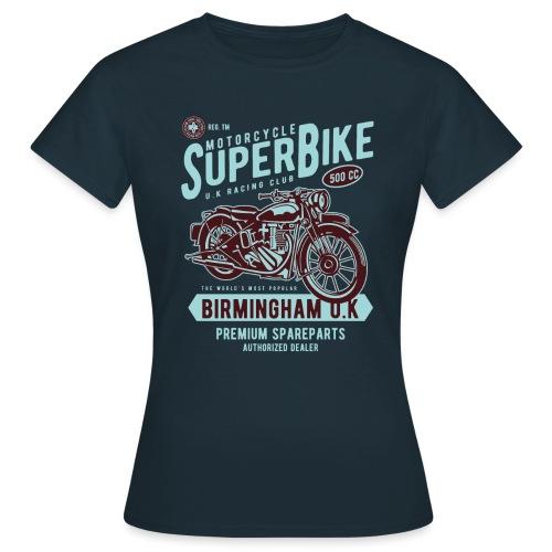T-Shirt Moto Vintage années 50/60 - T-shirt Femme