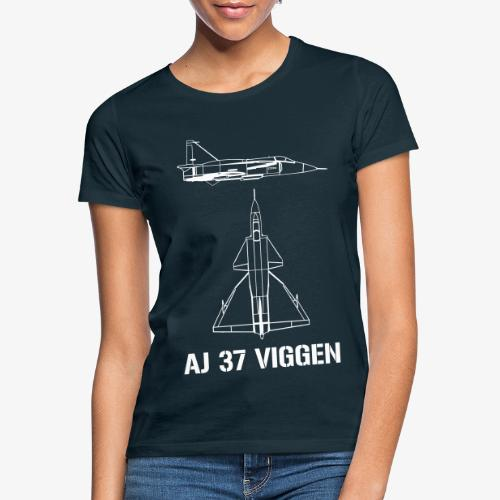 AJ 37 VIGGEN - T-shirt dam