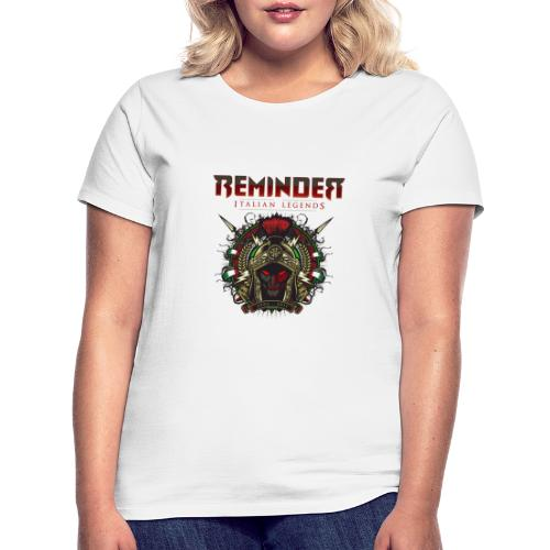 Reminder Italian Legends logo - Vrouwen T-shirt