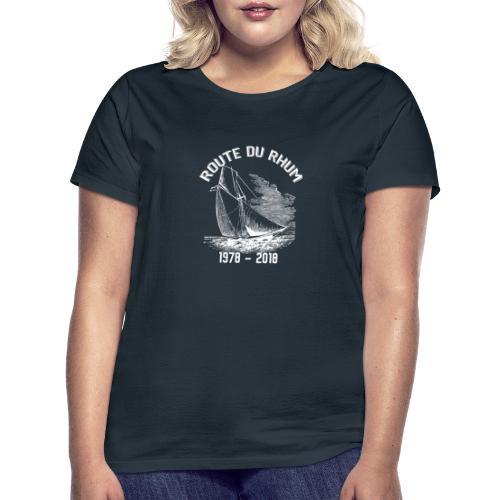 La Route du Rhum 1978-2018 - Blanc - T-shirt Femme