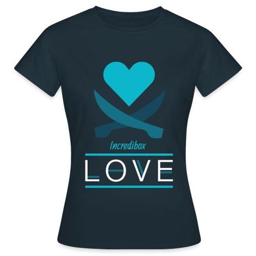 THE LOVE - T-shirt Femme