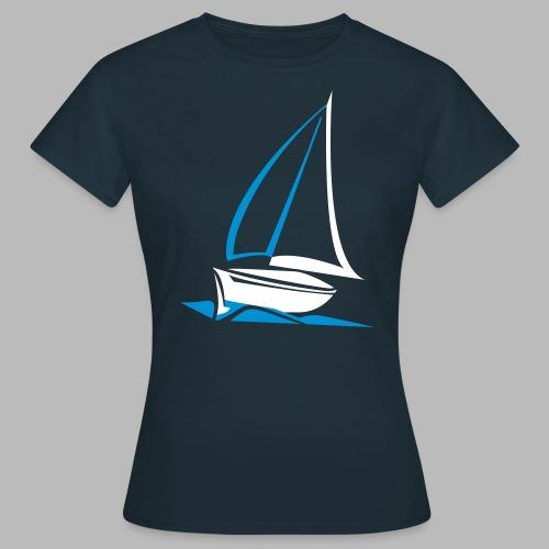 segelyacht - Frauen T-Shirt