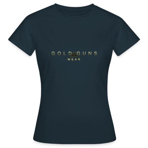 EDICIÓN GOLD GUNS WEAR - Camiseta mujer