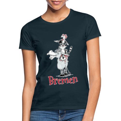 Bremer Stadtmusikanten - Frauen T-Shirt