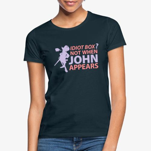 Caja tonta no con John - Camiseta mujer
