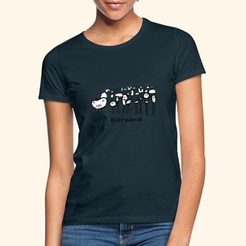 Hormonos - Camiseta mujer
