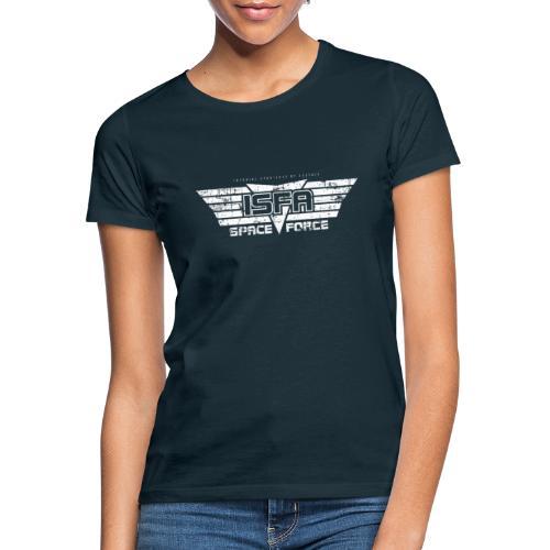 ISFA Spaceforce White grunge - Frauen T-Shirt