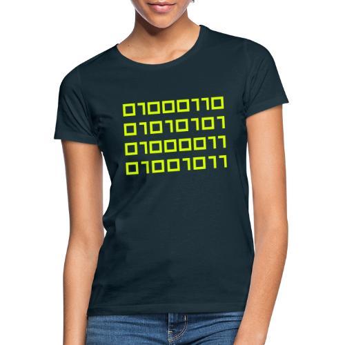IO Fuck Binaire - T-shirt Femme