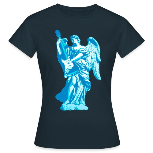 Engel 2018 blauw - Vrouwen T-shirt
