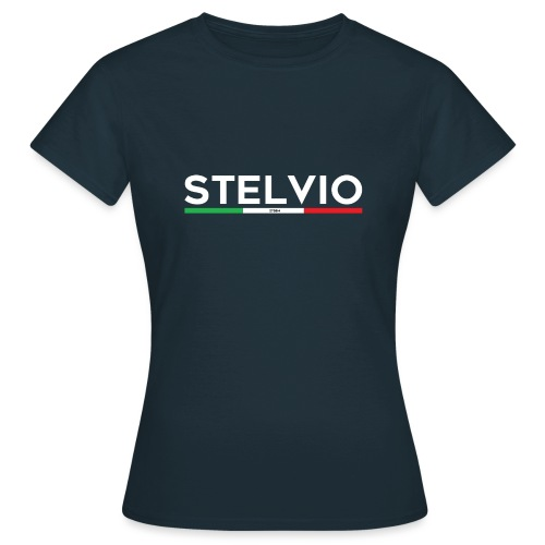 Stelvio mit Flagge - Frauen T-Shirt